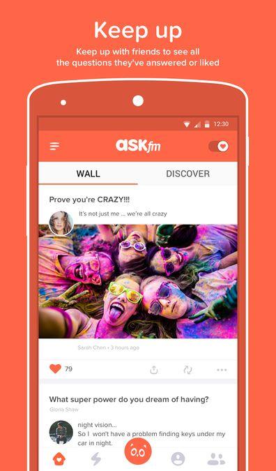 Скачать Ask.fm на Андроид — Русская версия screen 1