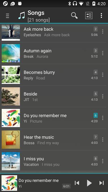Скачать JetAudio HD Music Player на Андроид — Русская версия screen 2