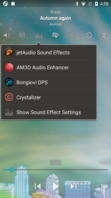 Скачать JetAudio HD Music Player на Андроид — Русская версия screen 1