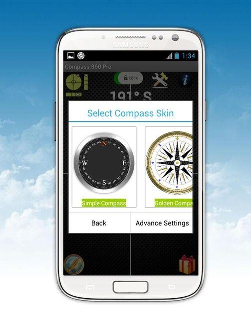 Скачать Компас 360 Pro Free на Андроид — Оригинальная версия screen 1