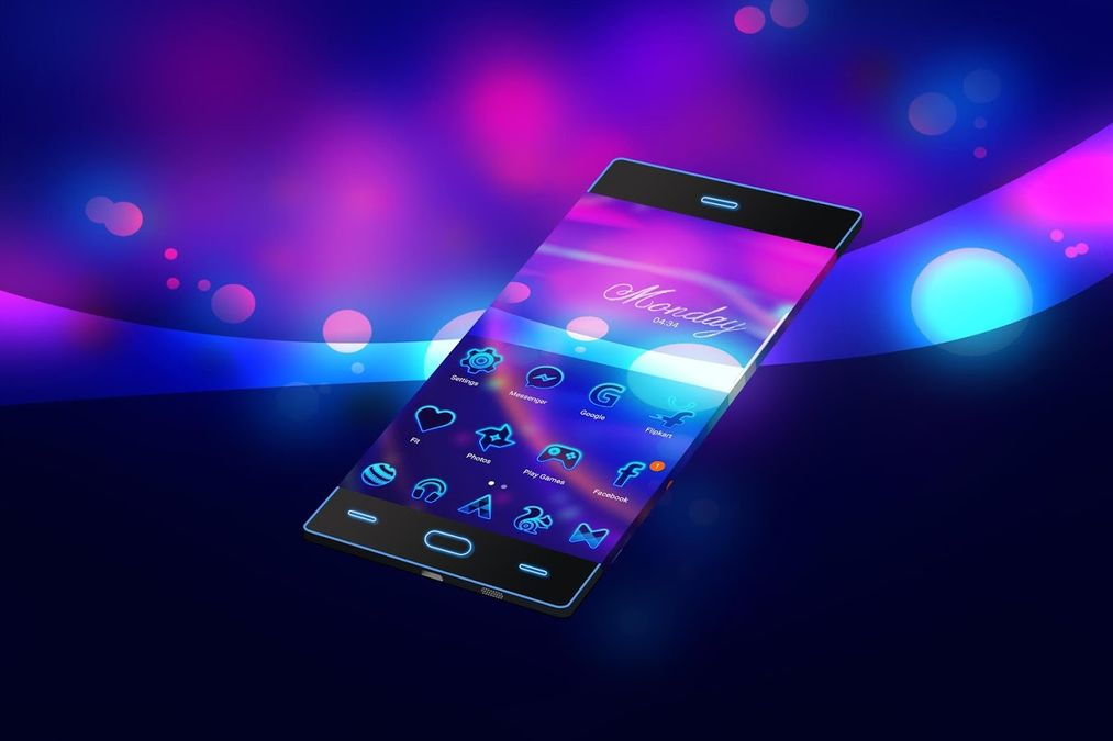 Скачать Neon 2 | HD обои — Тема на Андроид screen 2