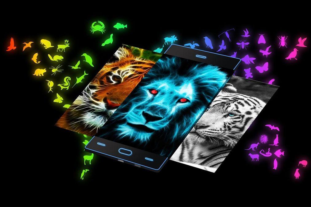 Скачать Neon 2 | HD обои — Тема на Андроид screen 3