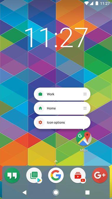 Скачать Nova Launcher на Андроид — Оригинальная версия screen 1