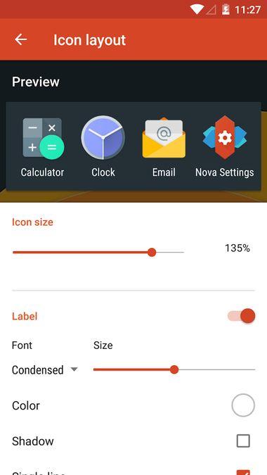 Скачать Nova Launcher на Андроид — Оригинальная версия screen 2