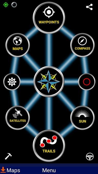 Скачать Polaris GPS Navigation на Андроид screen 1