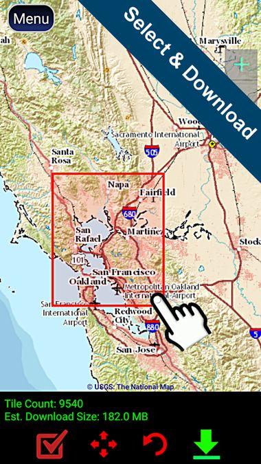 Скачать Polaris GPS Navigation на Андроид screen 2