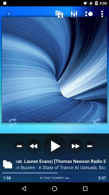 Скачать Poweramp на Андроид — Полная версия screen 4