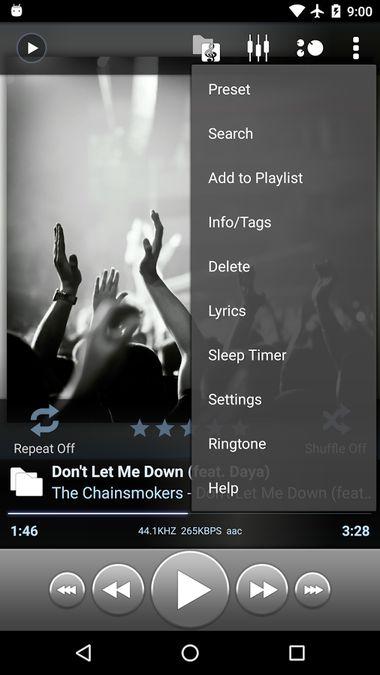 Скачать Poweramp на Андроид — Полная версия screen 2