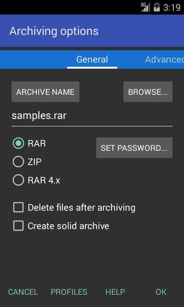 Скачать RAR на Андроид — Русская версия screen 4