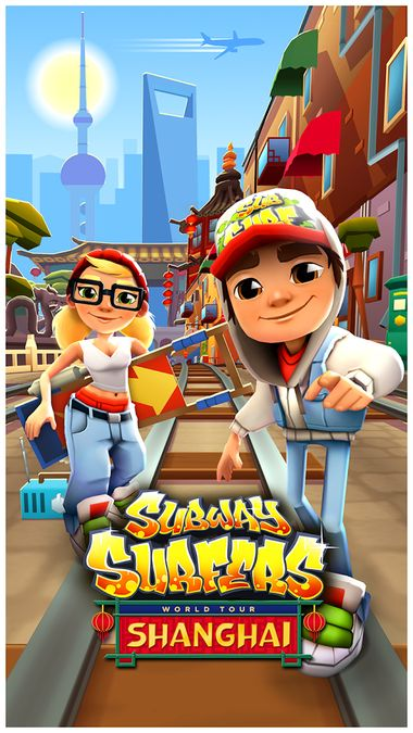 Скачать Subway Surfers на Андроид — Мод много монет screen 1