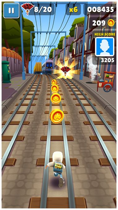 Скачать Subway Surfers на Андроид — Мод много монет screen 5