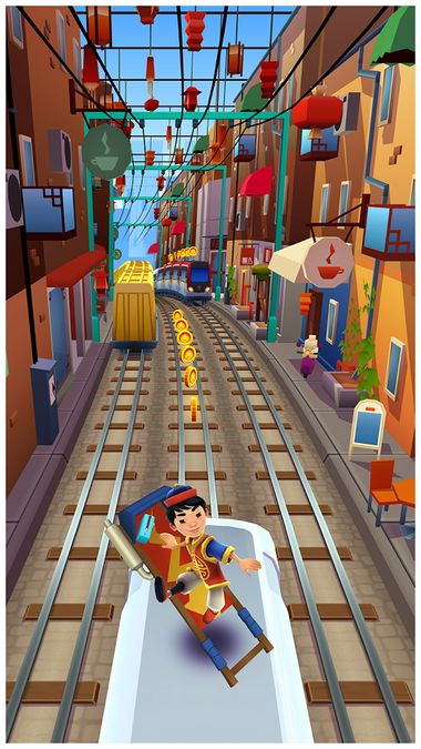 Скачать Subway Surfers на Андроид — Мод много монет screen 2