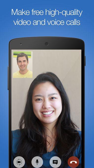 Скачать imo Видеозвонки и чат на Андроид screen 1