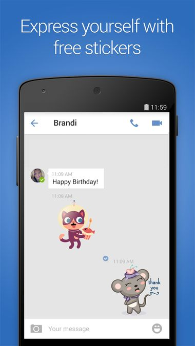 Скачать imo Видеозвонки и чат на Андроид screen 4