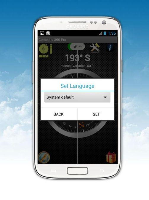 Скачать Компас 360 Pro Free на Андроид — Оригинальная версия screen 4