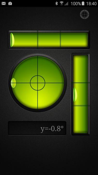 Скачать Пузырьковый Уровень на Андроид — Новая версия screen 3