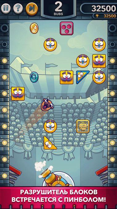 Скачать Blasty Bubs — Brick Breaker на Андроид screen 3