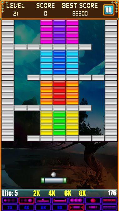 Скачать Brick Breaker: Super Breakout на Андроид screen 3