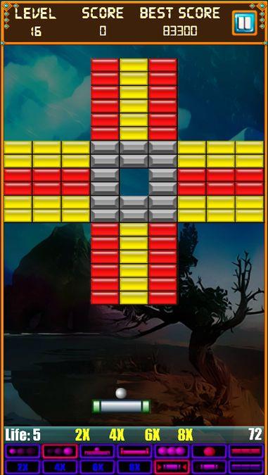 Скачать Brick Breaker: Super Breakout на Андроид screen 2