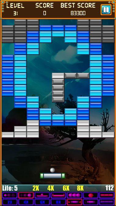 Скачать Brick Breaker: Super Breakout на Андроид screen 4