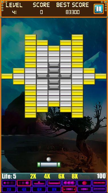 Скачать Brick Breaker: Super Breakout на Андроид screen 1