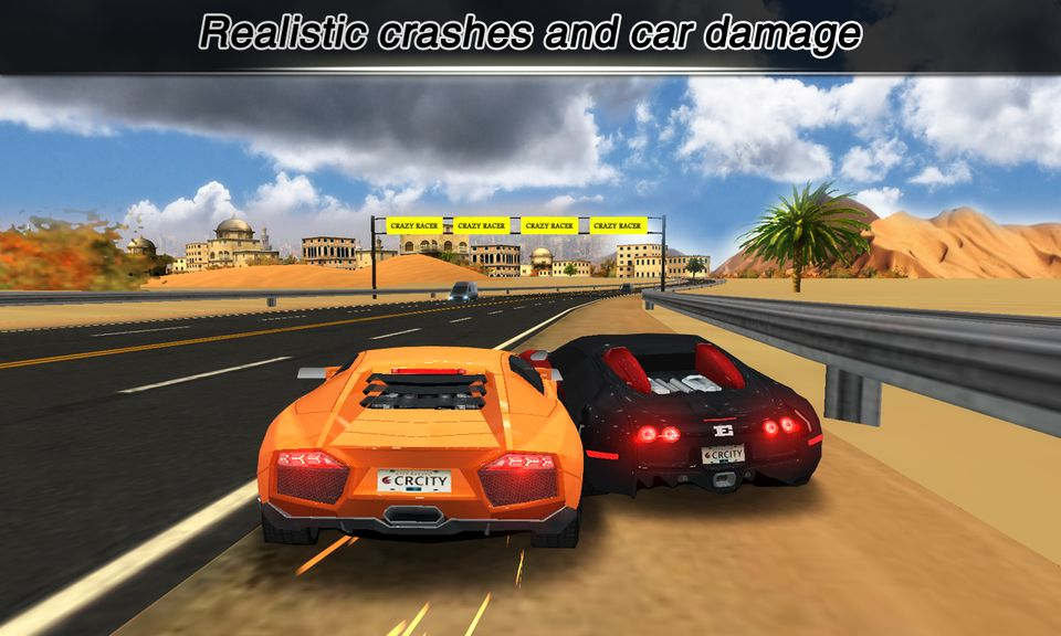Скачать City Racing 3D на Андроид — Мод свободные покупки screen 1