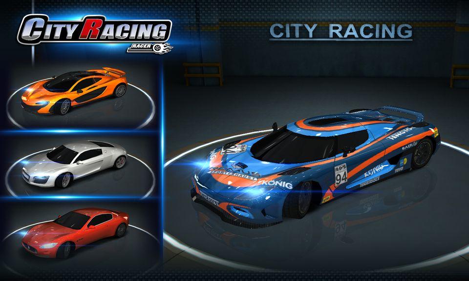Скачать City Racing 3D на Андроид — Мод свободные покупки screen 2