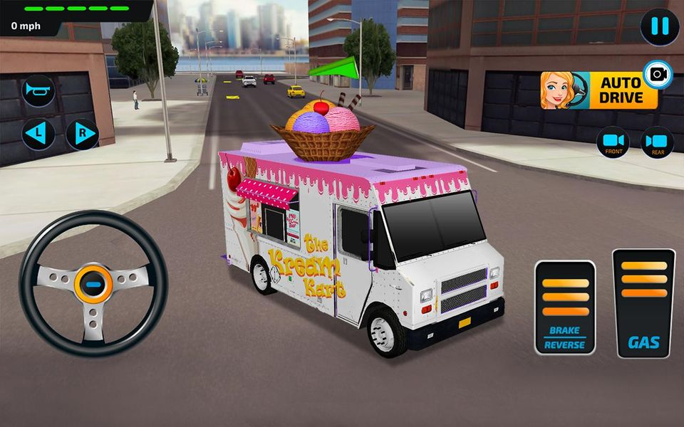 Скачать Food Truck Rush Drive & Serve на Андроид screen 4