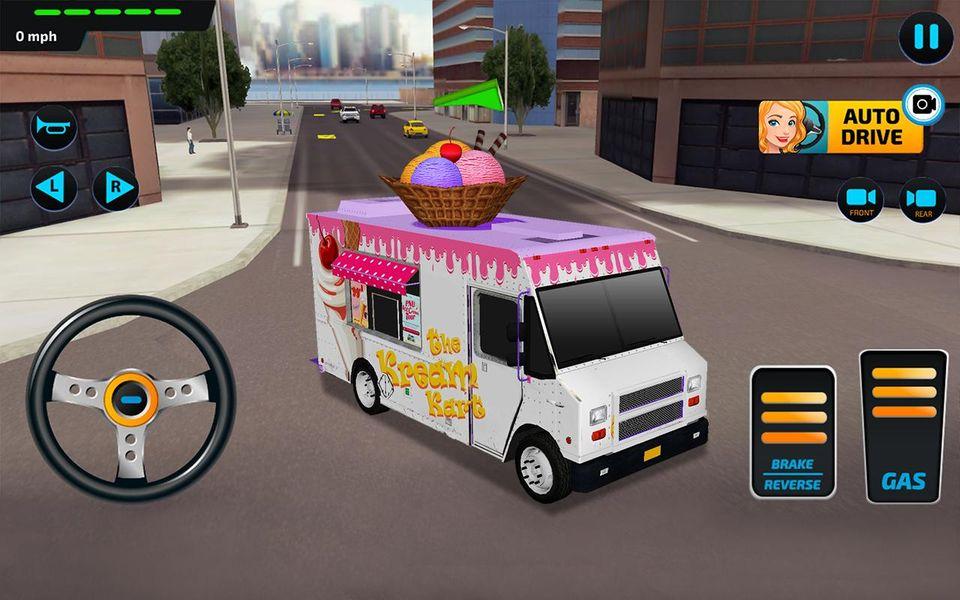 Скачать Food Truck Rush Drive & Serve на Андроид screen 4