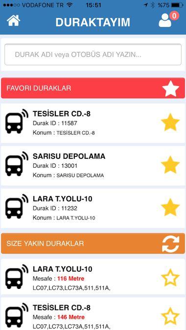 Скачать Где автобусы — 16 в городе на Андроид screen 3