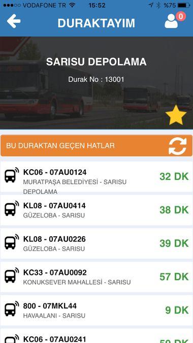 Скачать Где автобусы — 16 в городе на Андроид screen 2