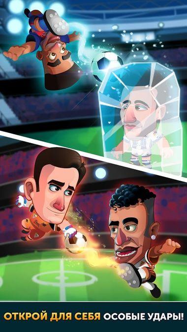 Скачать Head Soccer LaLiga 2018 на Андроид screen 2