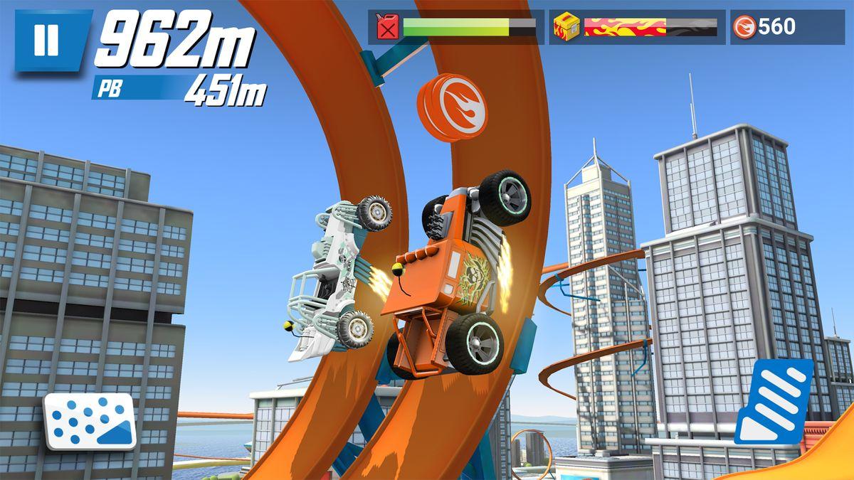 Скачать Hot Wheels: Race Off на Андроид — Русская версия screen 1