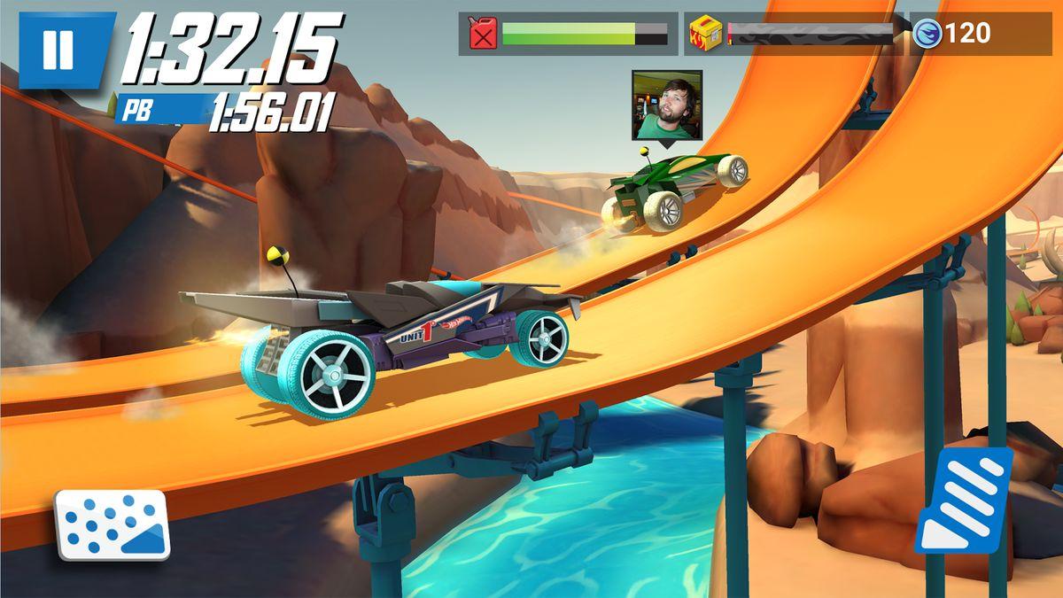 Скачать Hot Wheels: Race Off на Андроид — Русская версия screen 2