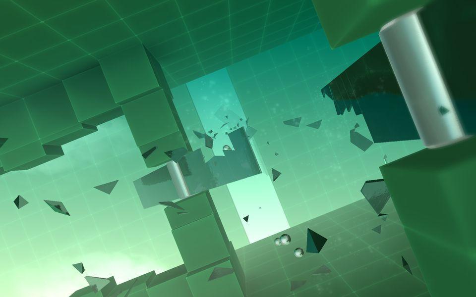 Скачать Smash Hit на Андроид — Мод много шаров screen 3