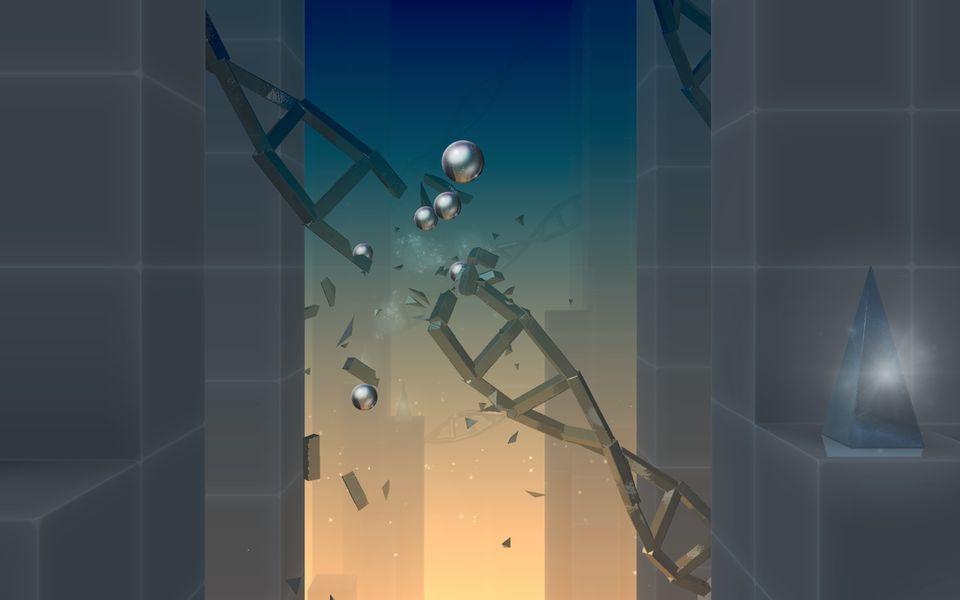 Скачать Smash Hit на Андроид — Мод много шаров screen 2