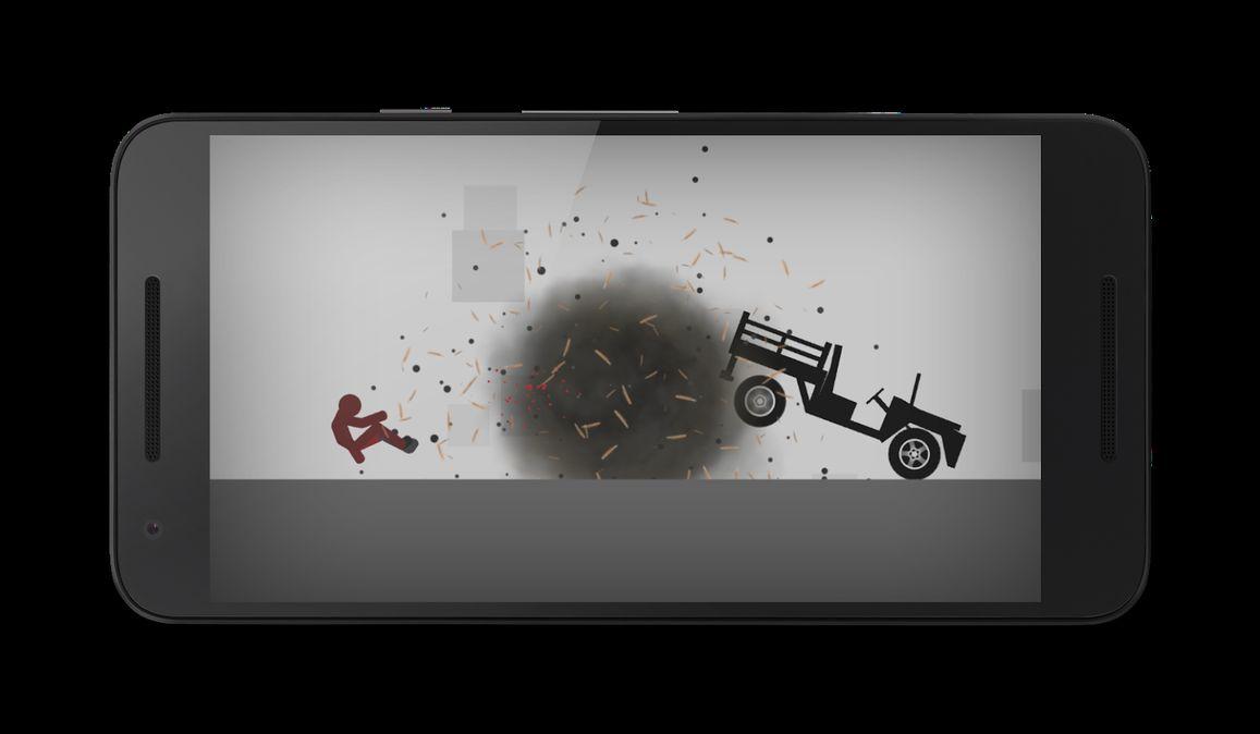 Скачать Stickman Dismounting на Андроид — Мод много денег screen 1