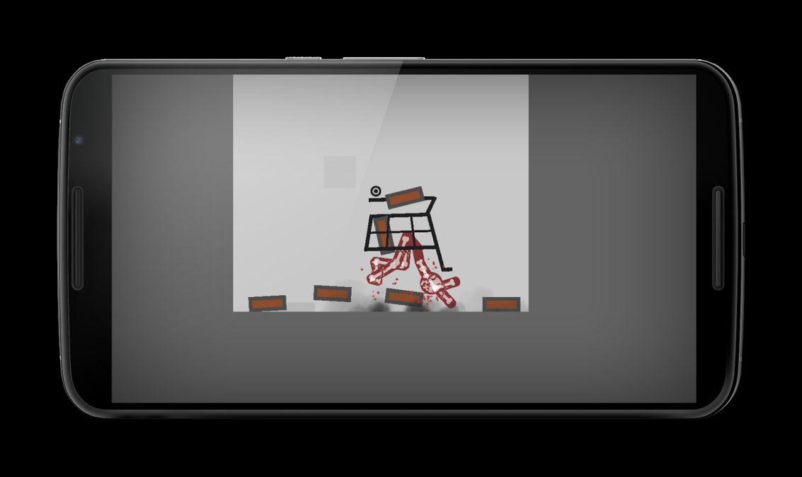 Скачать Stickman Dismounting на Андроид — Мод много денег screen 2