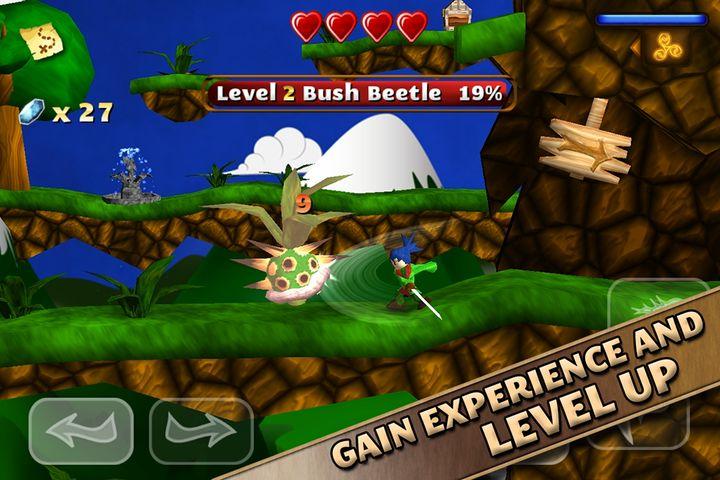 Скачать Swordigo на Андроид — Мод много монет screen 1