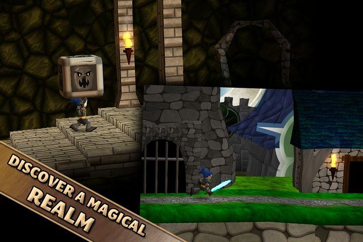 Скачать Swordigo на Андроид — Мод много монет screen 3