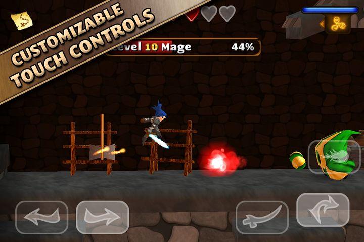 Скачать Swordigo на Андроид — Мод много монет screen 2