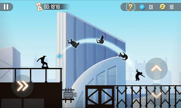 Скачать Теневой скейтбординг на Андроид screen 1