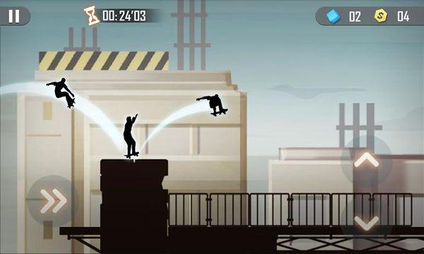 Скачать Теневой скейтбординг на Андроид screen 3