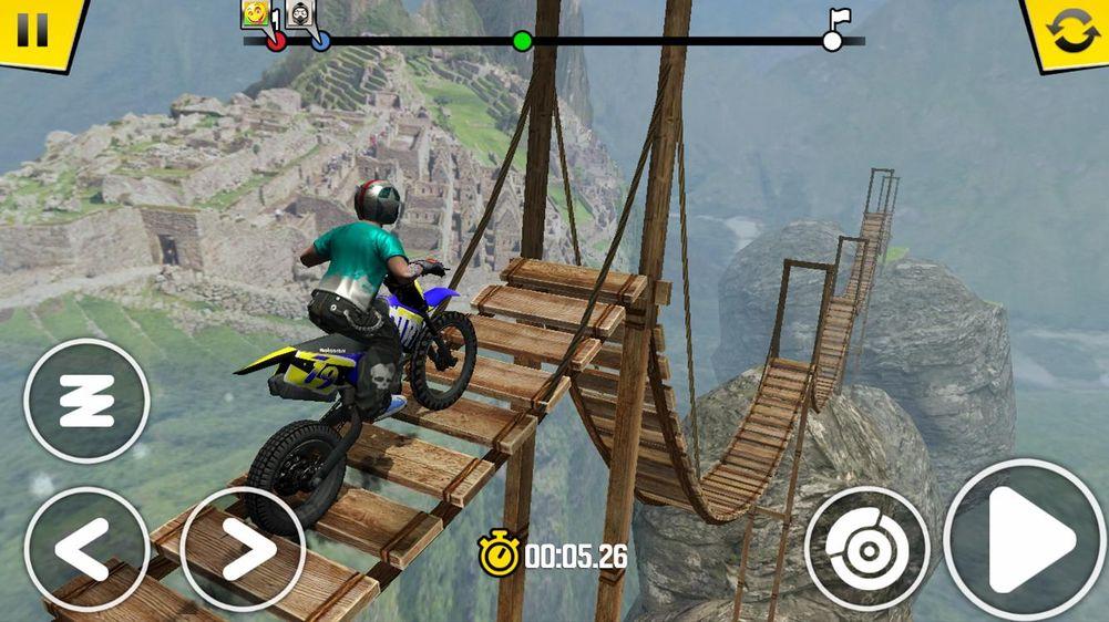 Скачать Trial Xtreme 4 на Андроид — Мод все открыто screen 3