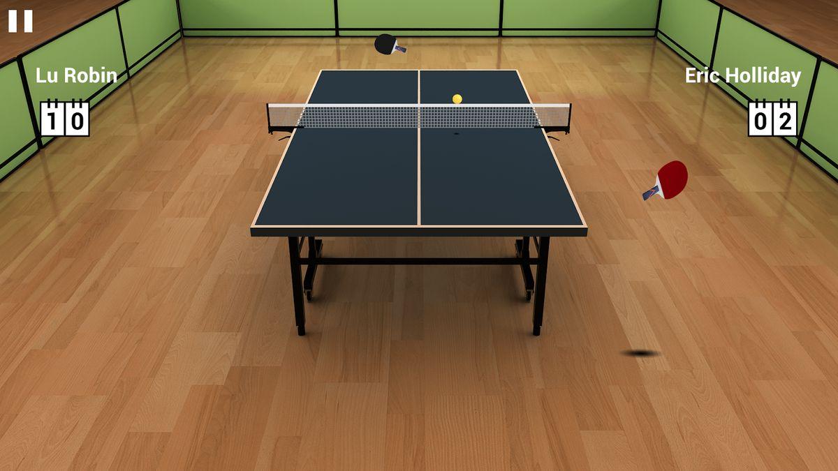 Скачать Virtual Table Tennis на Андроид — Полная версия screen 1