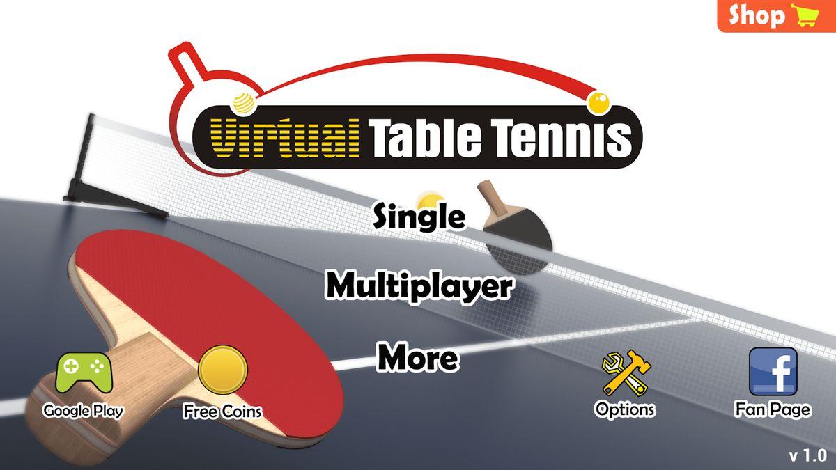 Скачать Virtual Table Tennis на Андроид — Полная версия screen 2