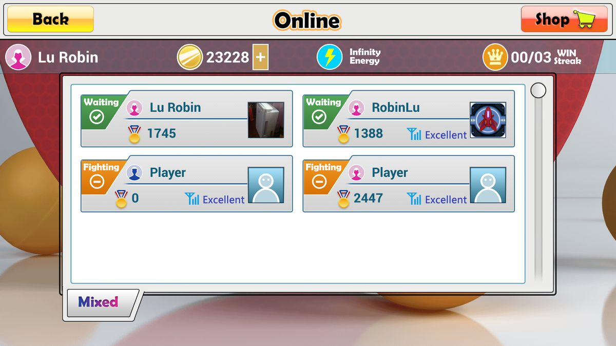 Скачать Virtual Table Tennis на Андроид — Полная версия screen 4