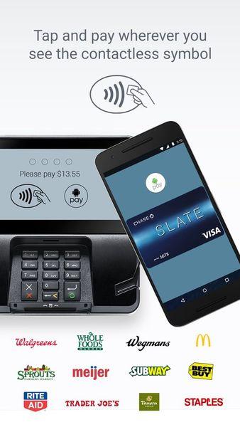 Скачать Android Pay (Google Pay) на Андроид screen 1