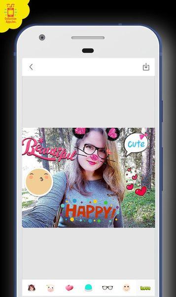 Скачать Snappy Photo Filters Stickers на Андроид screen 2