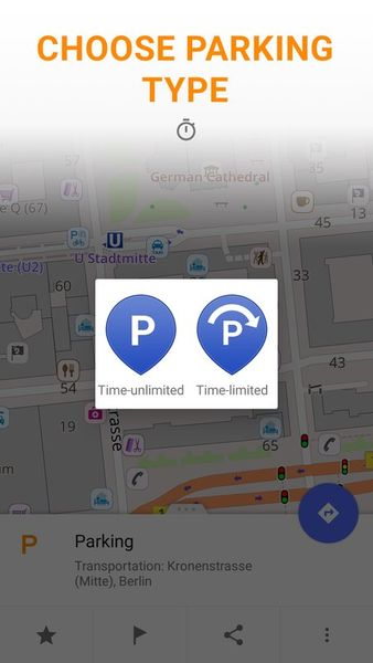Скачать Parking Plugin – OsmAnd на Андроид screen 1